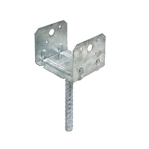 RCPS Selle Carport Rebar Galvanized Hotbar pour 4x4 Rough