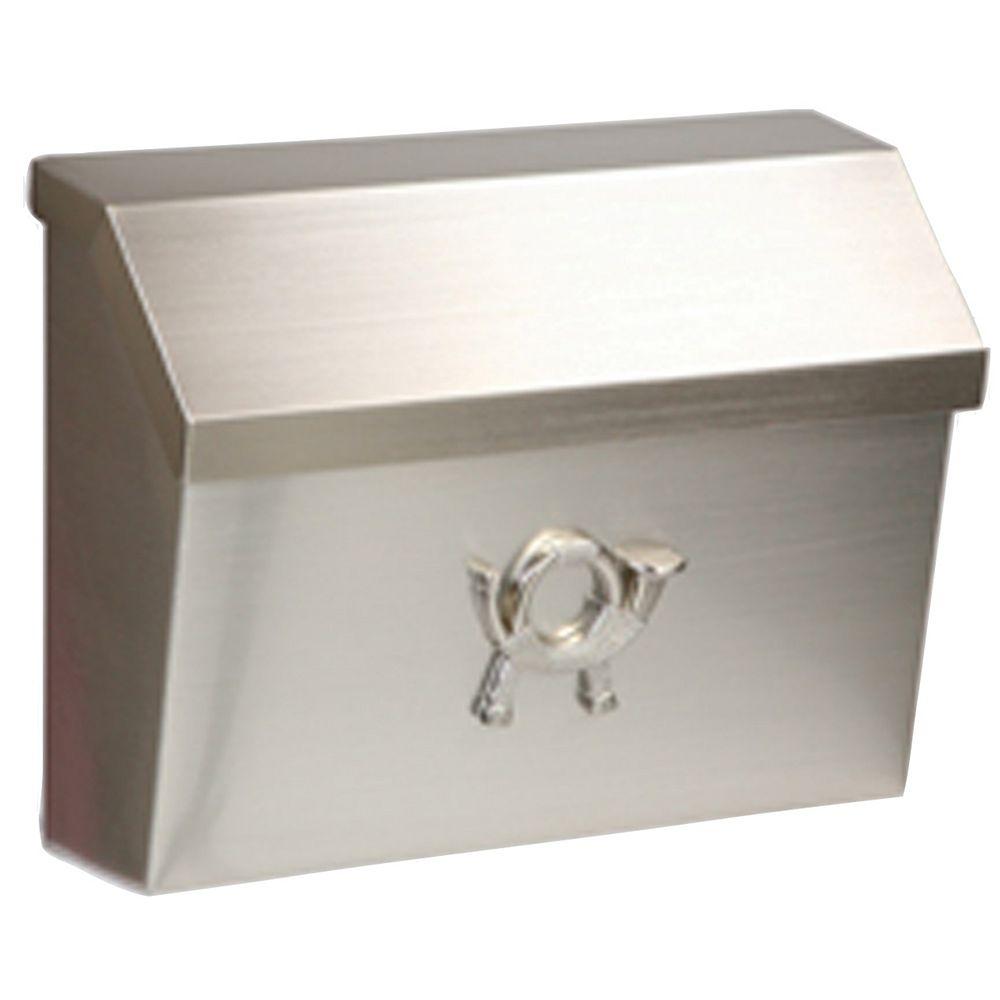 Gibraltar Industries Satin-Nickel Cambridge Wallmount Mailbox