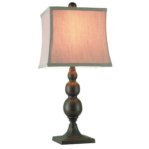 """CANTERBURY, LAMPE D'APPOINT EN MÉTAL, 22.5"""""""