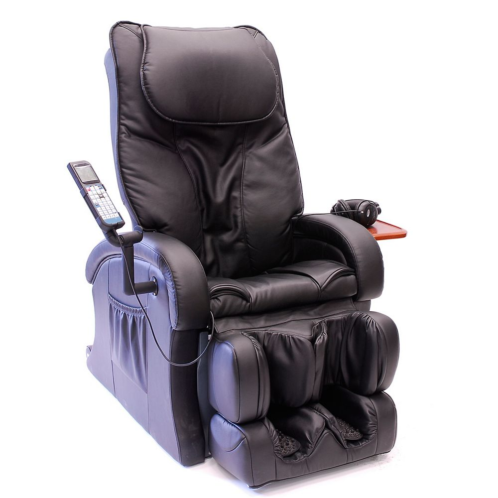 iComfort Black Therapeutic Massage Chair