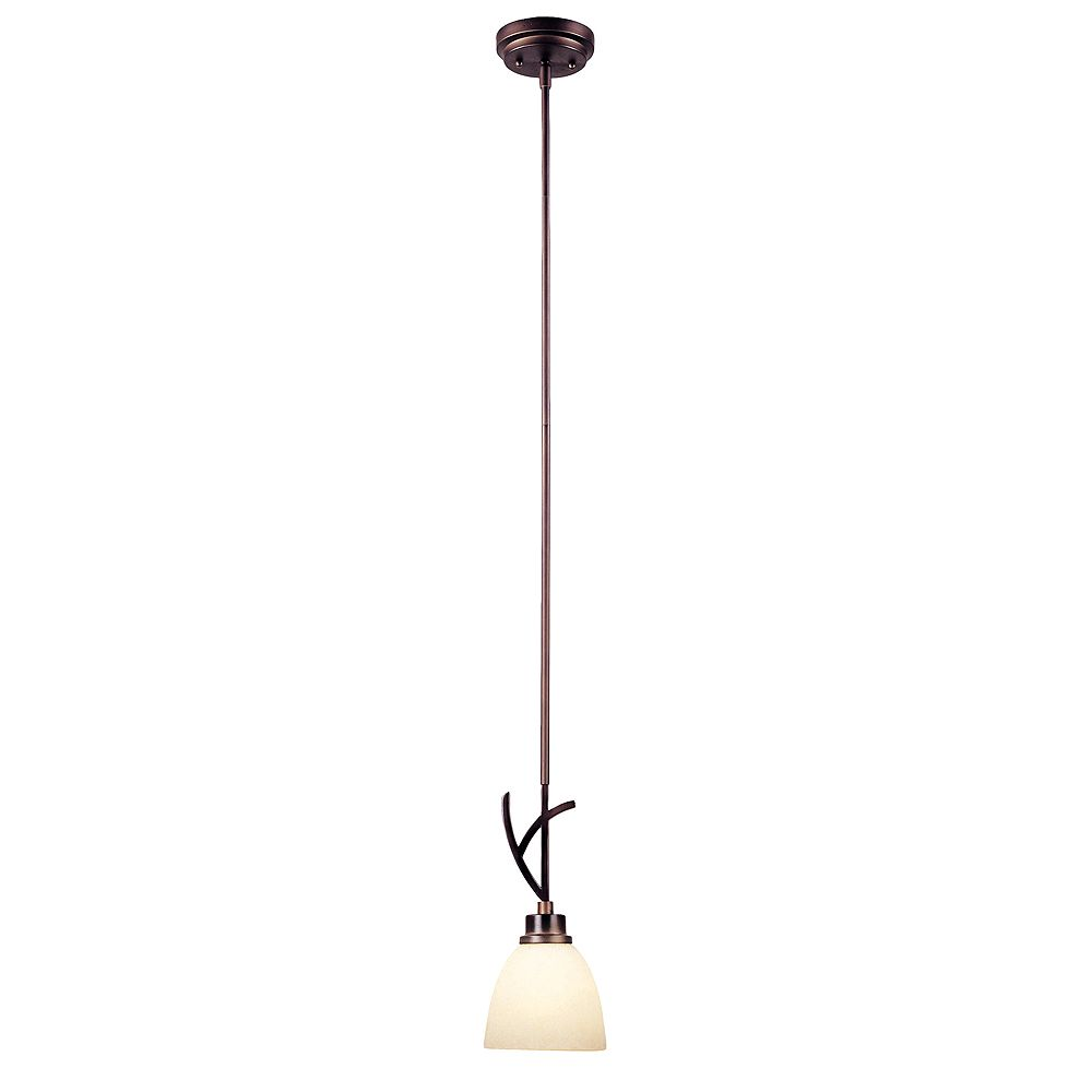World Imports Beyond Modern Collection 1-Light Mini Pendant in Weathered Copper
