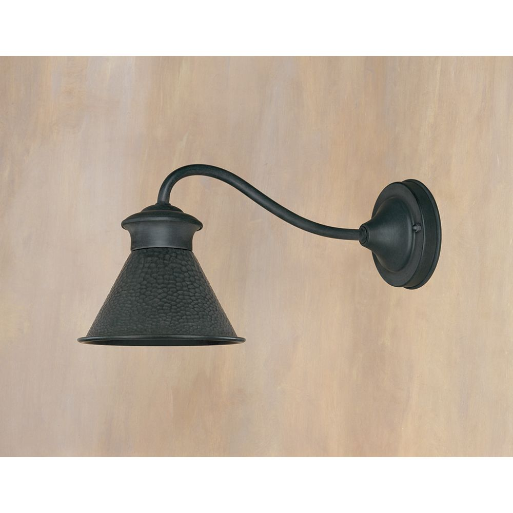 World Imports Dark Sky Kingston Collection 6 in. 1-Light Outdoor Wall Sconce in Rust