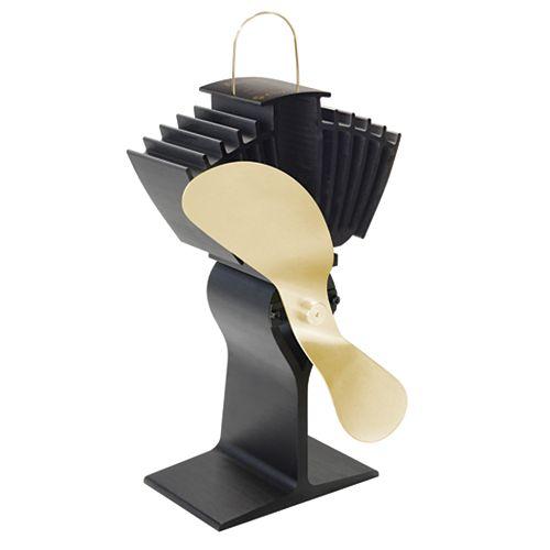 Ecofan Airmax Model 812 Gold Blade Wood Stove Fan