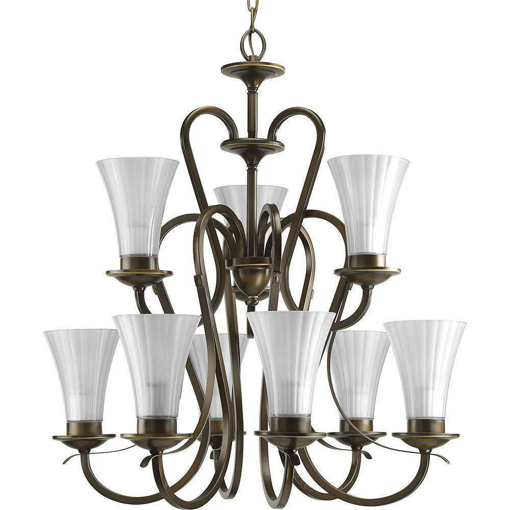 Progress Lighting Melody Collection Oil Rubbed Bronze 9-light Chandelier