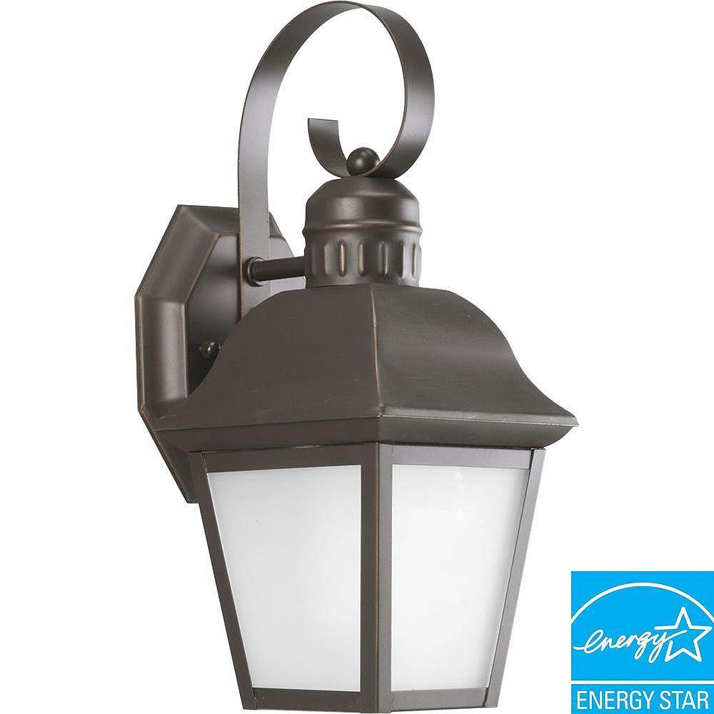 Progress Lighting Andover Collection Antique Bronze 1-light Wall Lantern