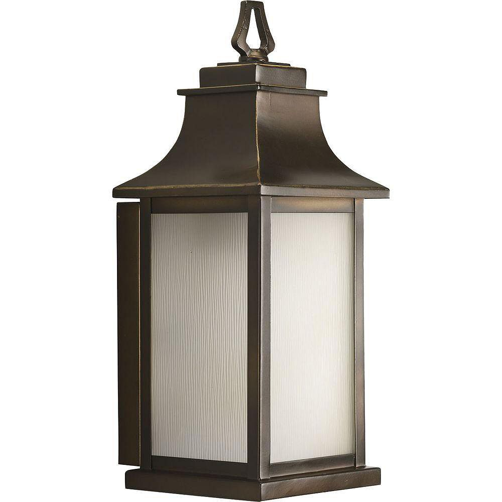 Progress Lighting Salute Collection Oil Rubbed Bronze 1-light Wall Lantern