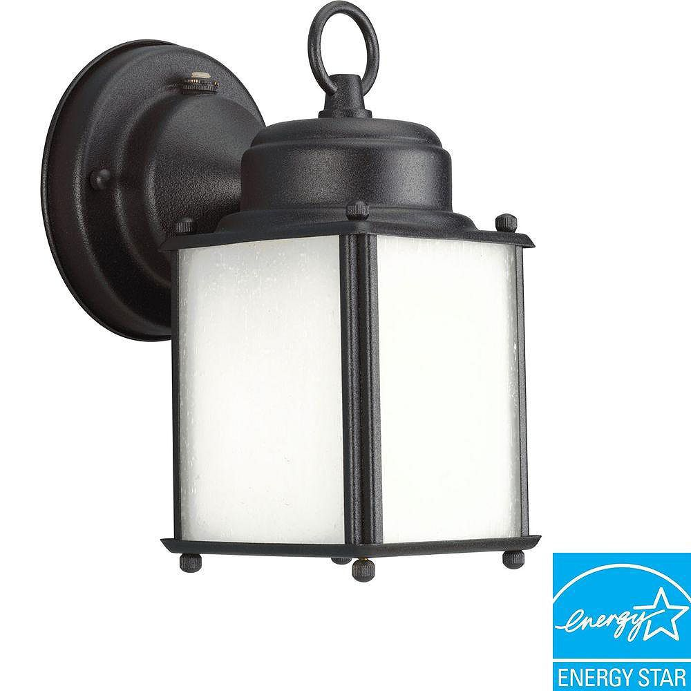 Progress Lighting Roman Coach Collection Black 1-light Wall Lantern