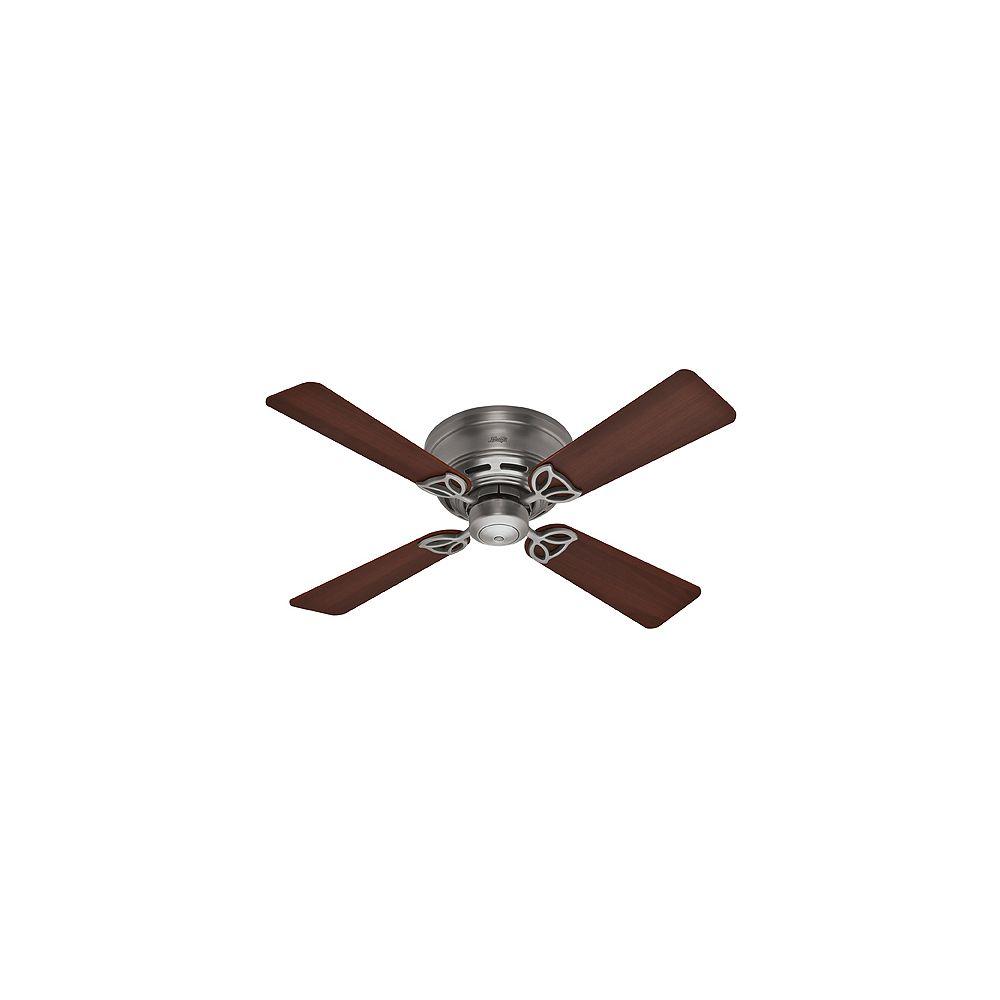 Hunter 42 Inch Low Profile III - Antique Pewter Ceiling Fan