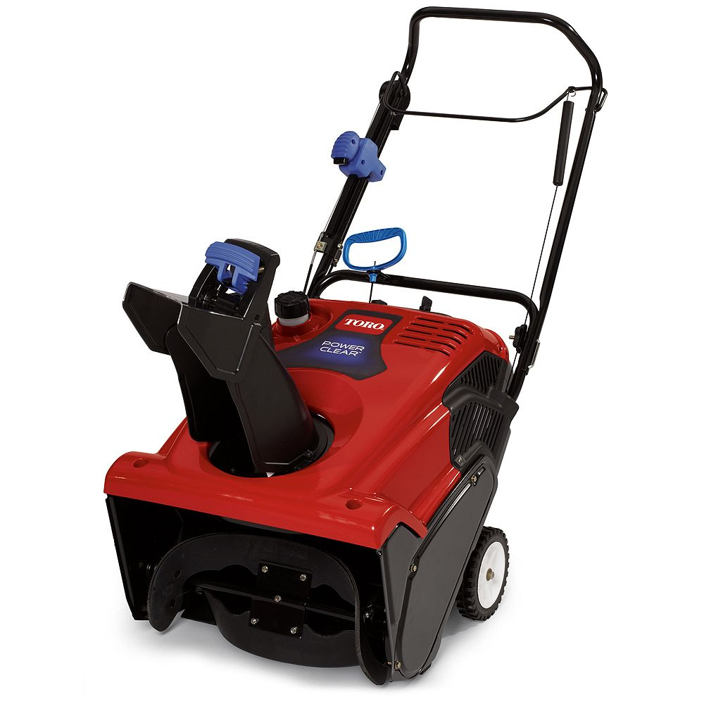 Toro Power Clear 621 QZR Single-Stage Electric Snowblower with 21-Inch Clearing Width