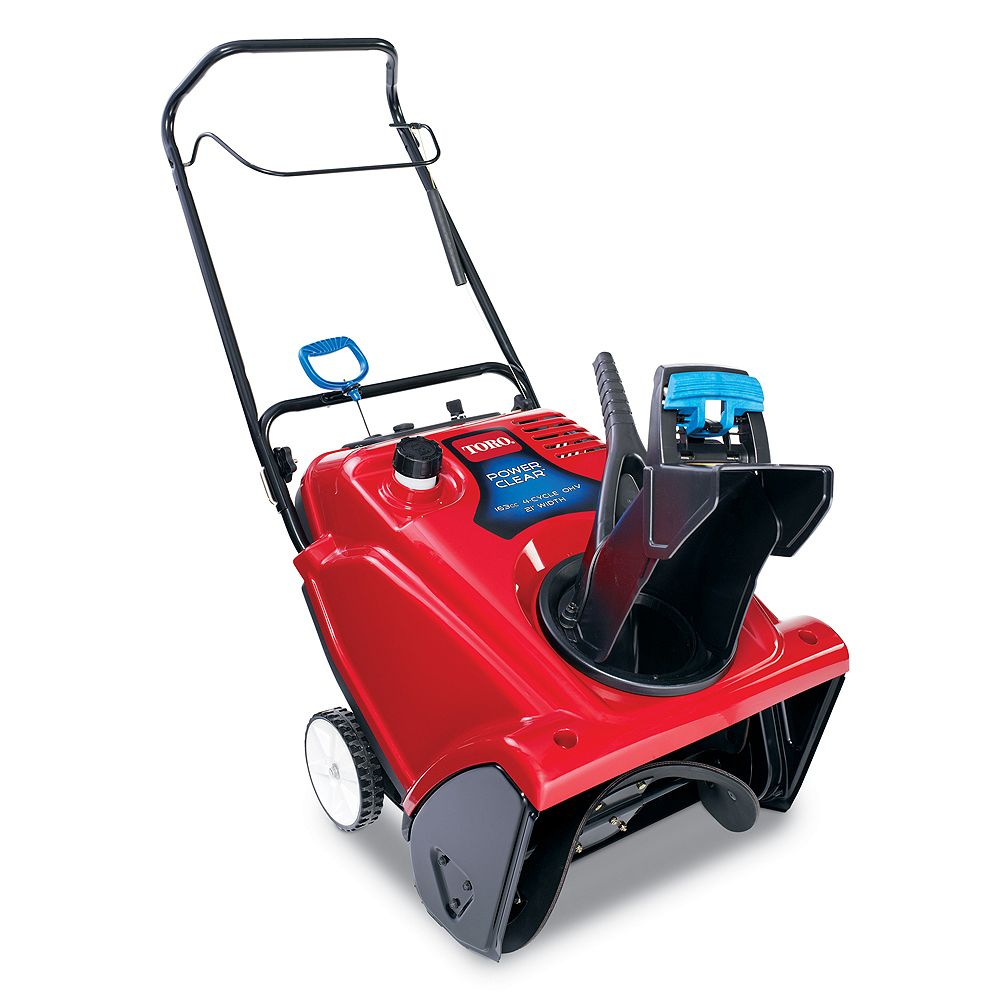 Toro Power Clear 621 ZE Single-Stage Electric Snowblower with 21-Inch Clearing Width