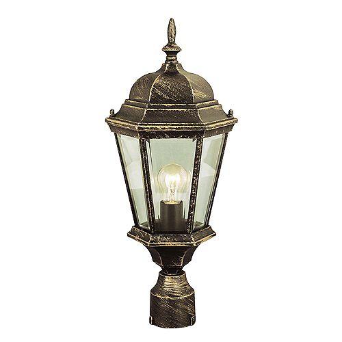 Luminaire de lampadaire, noir cuivré