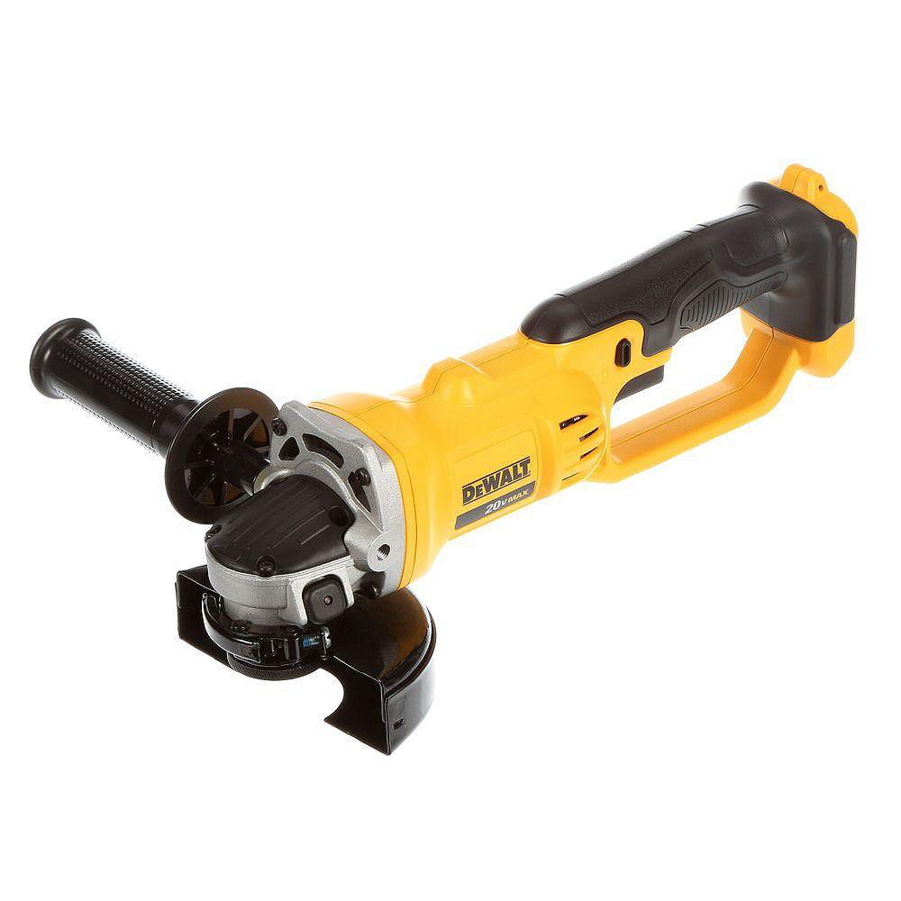 DEWALT 20V MAX Lithium-Ion Cordless 4-1/2-inch to 5-inch Grinder (Tool Only)