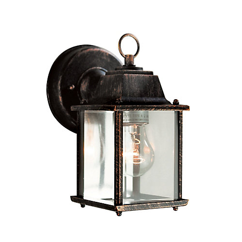 8-inch Patio Light in Coppered Black