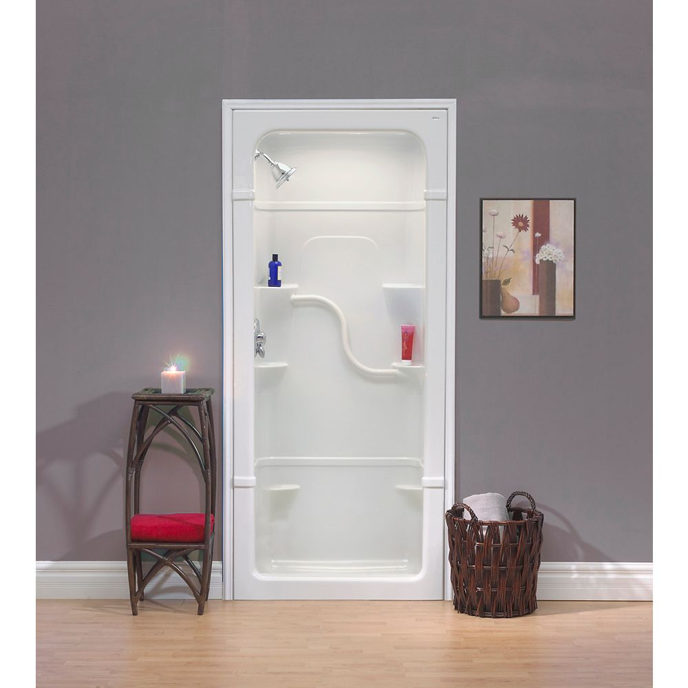 Mirolin Madison 36-Inch 1-Piece Acrylic Shower Stall   The Home Depot Canada