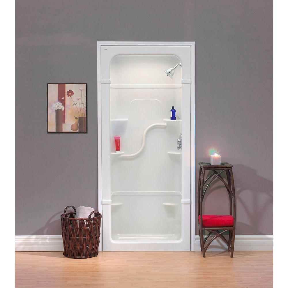 Mirolin Madison 36-Inch 1-Piece Acrylic Shower Stall