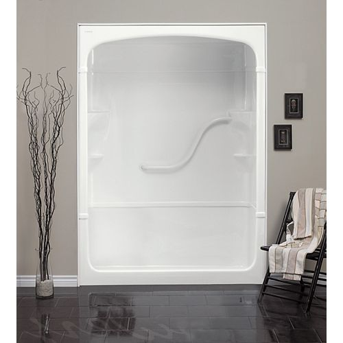 Madison 60-Inch 1-Piece Acrylic Shower Stall