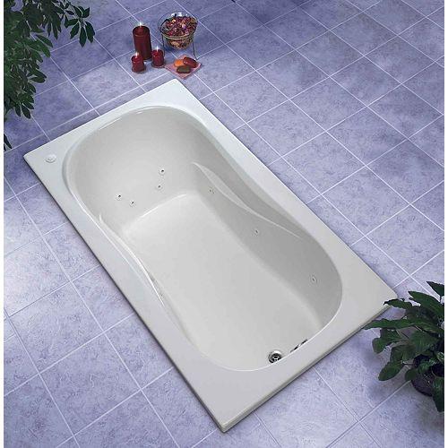 Newport 5 Feet Acrylic Drop-in Whirlpool Bathtub