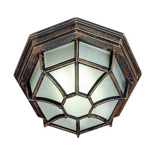 Rust Web 11 inch Ceiling Light