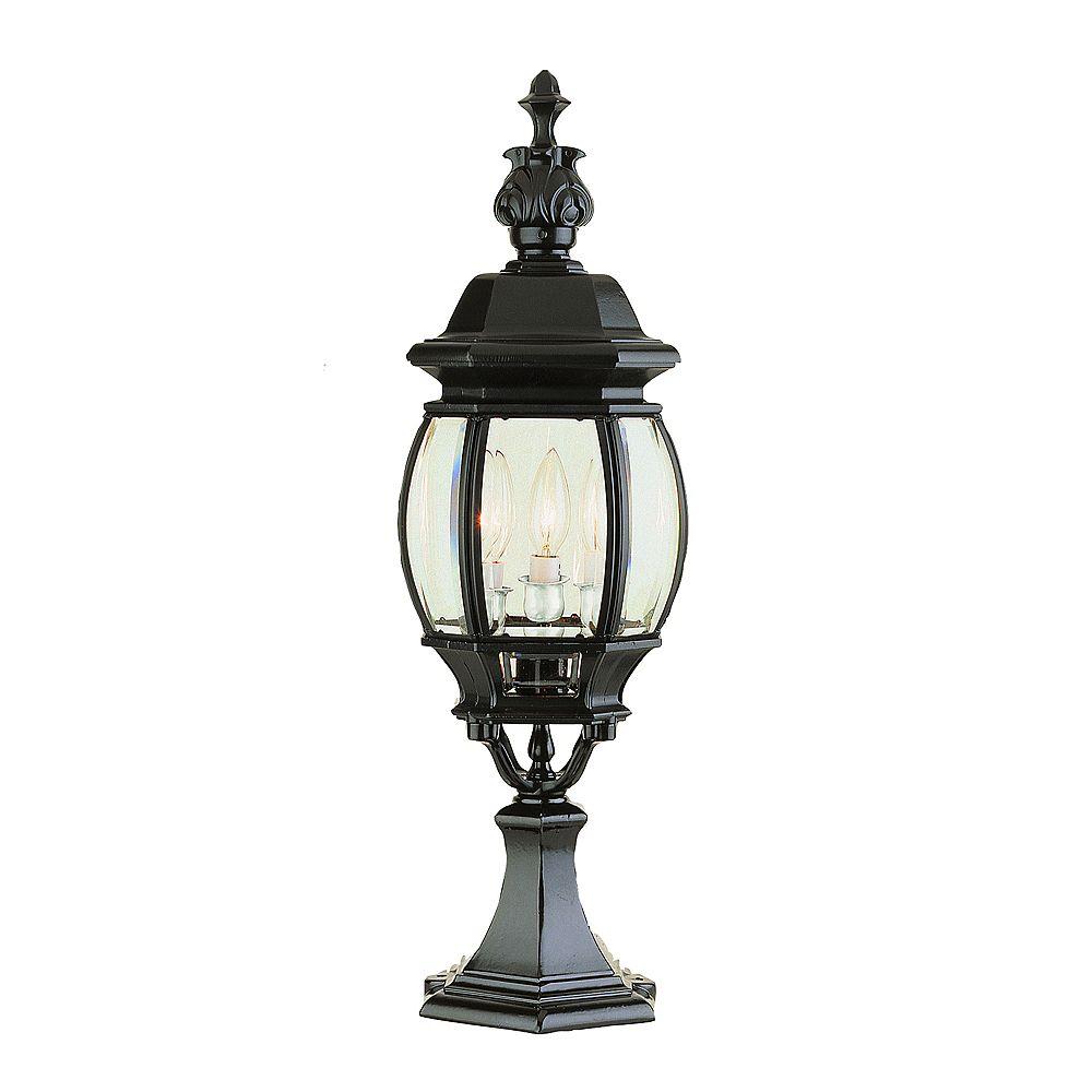Bel Air Lighting Lampe sur socle, noire