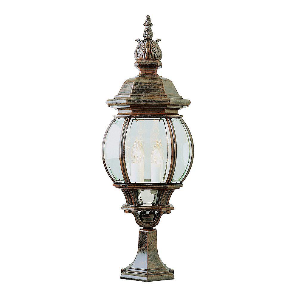 Bel Air Lighting Lampe sur socle, rouille