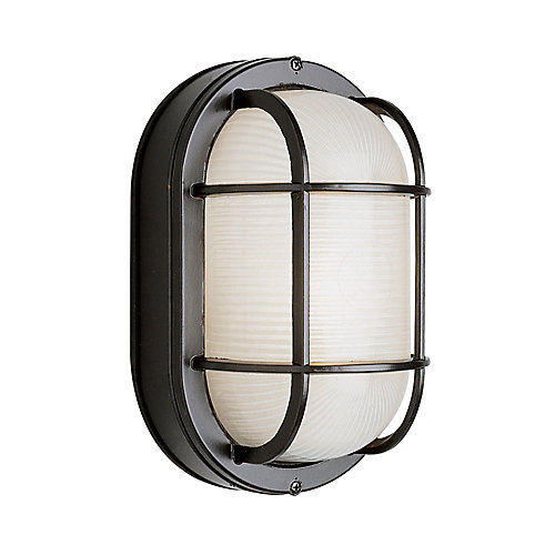 Porch Deck and Stairwell Light 11 inch in Black