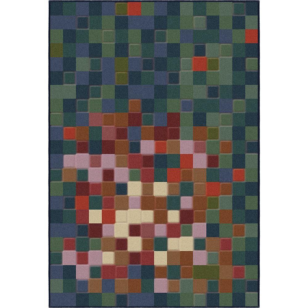 Korhani Carpette, 5 pi 3 po x 7 pi 5 po, rectangulaire, multicolore Elements