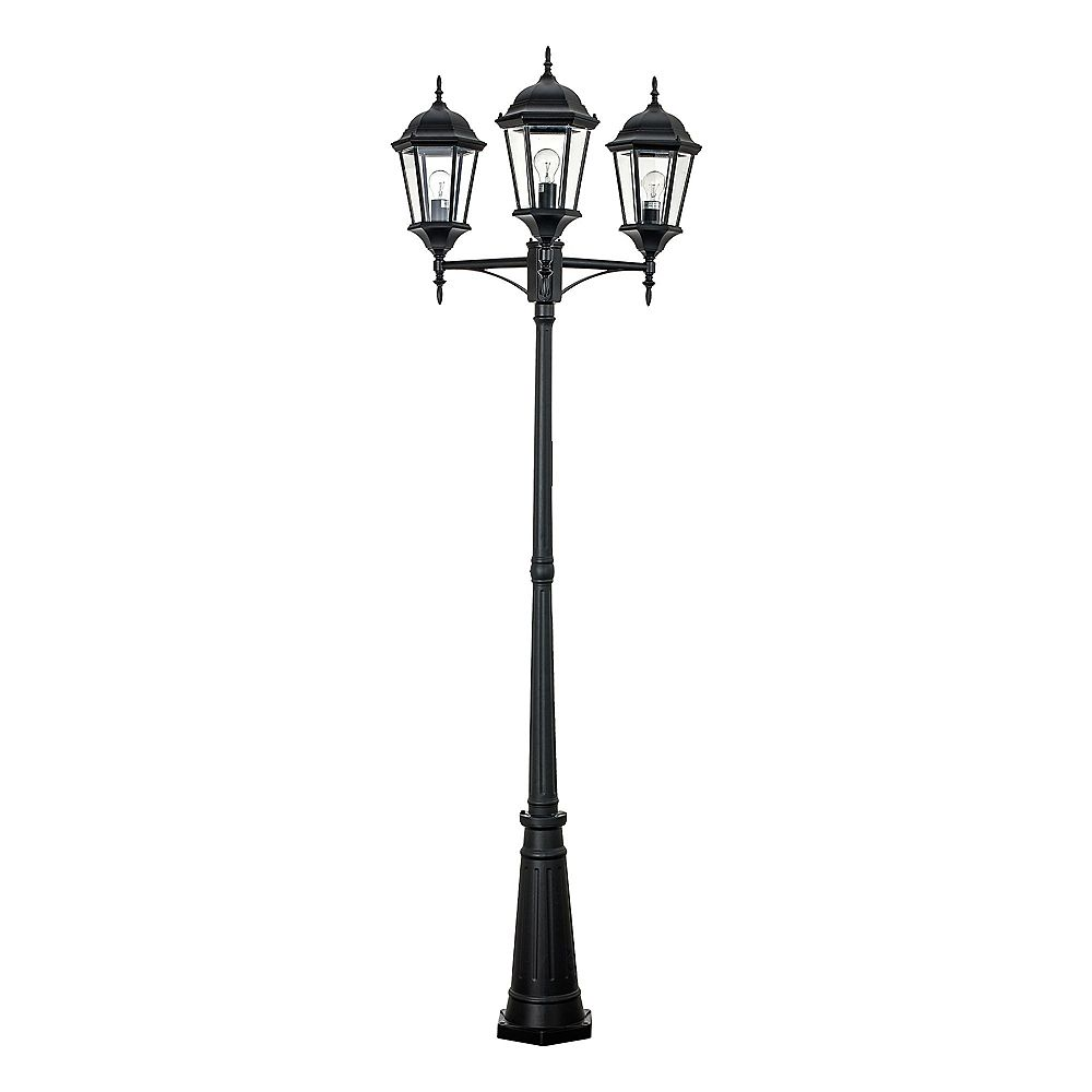 Bel Air Lighting Lampadaire Montrose, noir