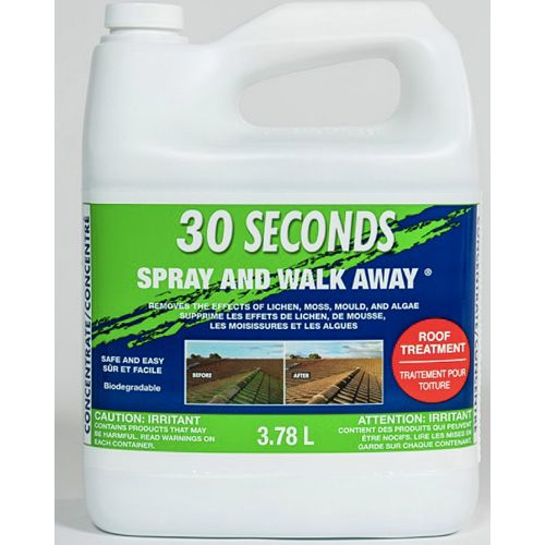 Spray and Walk Away