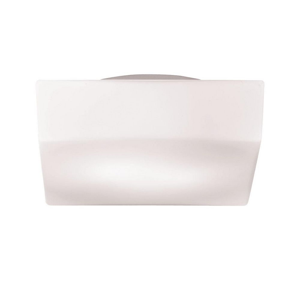 Eurofase Amata Collection 2-Light White Flushmount Light Fixture