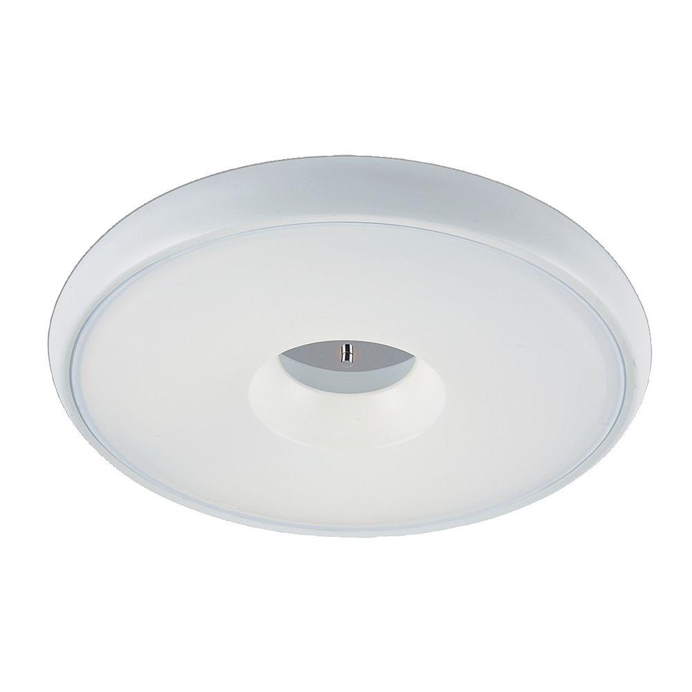Eurofase Ciambella Collection 1-Light White Flush Mount