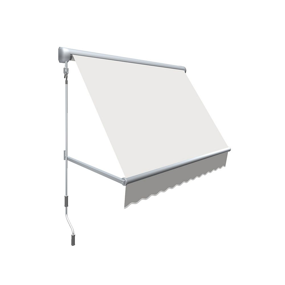 Beauty-Mark Mesa 7 ft. Retractable Window Awning (24-inch Projection) in Off-White