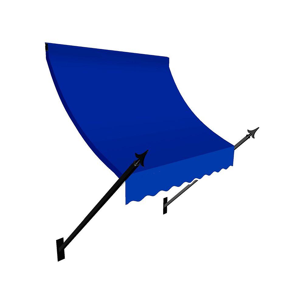 Beauty-Mark 1,83m (6pi) NEW ORLEANS (1,12m (44po) H x 60,96 cm (24 po) P) Auvent de fenêtre / d'entrée  - Bleu vif