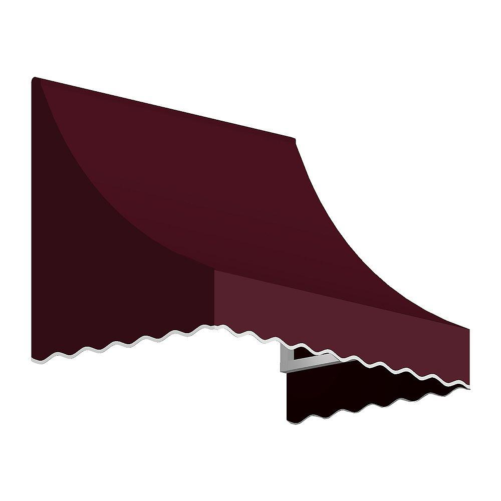 Beauty-Mark 1,52m (5pi) NANTUCKET 78,74 cm (31 po) H x 60,96 cm (24 po) P) Auvent de fenêtre / d'entrée  - Bordeaux