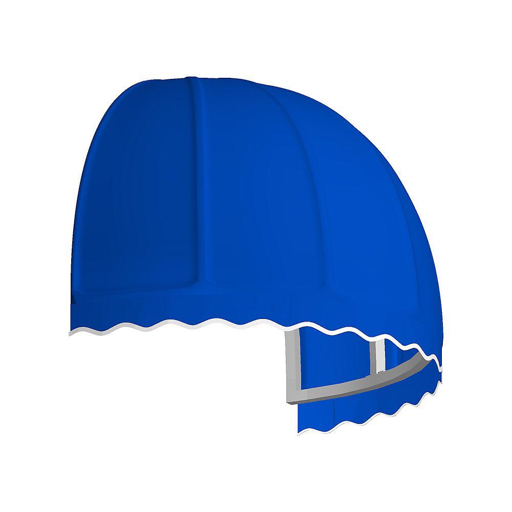 Beauty-Mark 0,91m (3pi) QUEBEC (1,12m (44po) H x 91,44cm (36po) P) Auvent de fenêtre / d'entrée  - Bleu vif