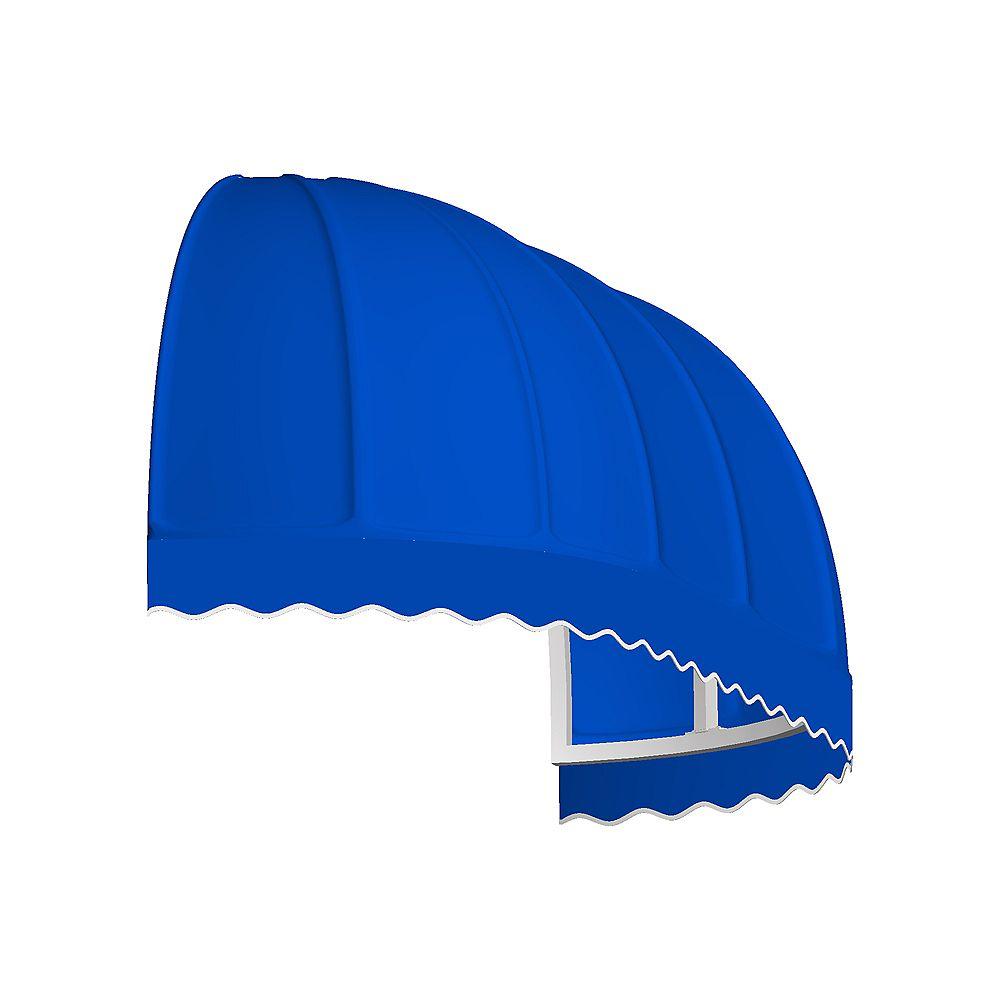 Beauty-Mark 1,83m (6pi) VANCOUVER (1,12m (44po) H x 91,44cm (36po) P) Auvent de fenêtre / d'entrée  - Bleu vif