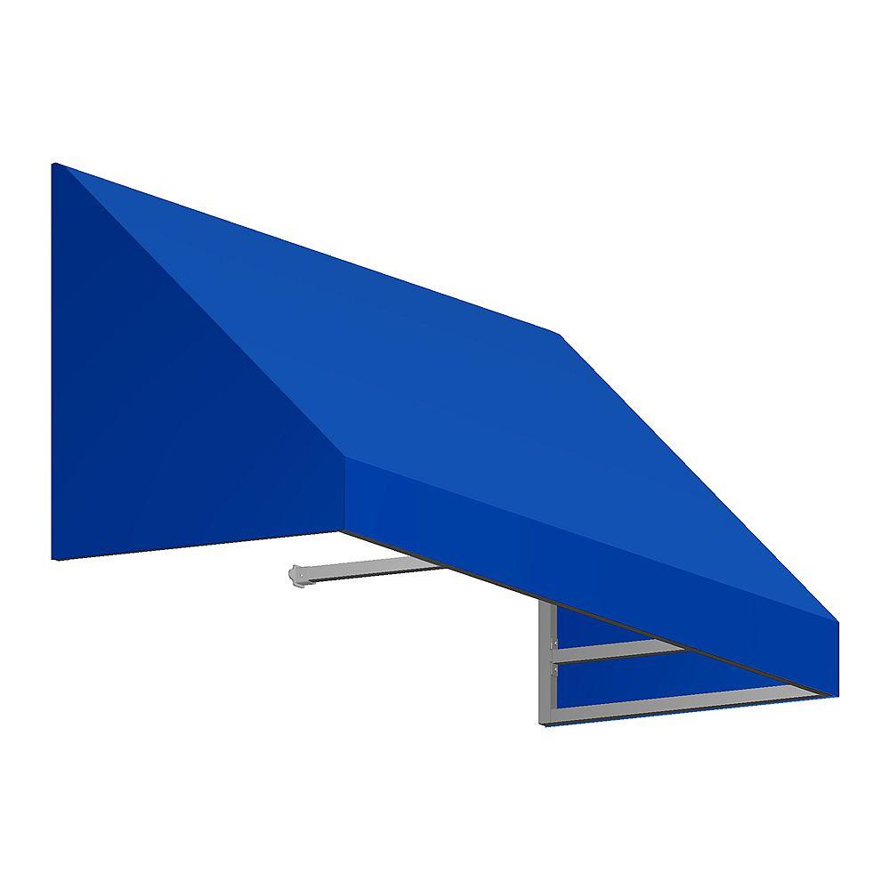 Beauty-Mark 1,52m (5pi) TORONTO 78,74 cm (31 po) H x 60,96 cm (24 po) P) Auvent de fenêtre / d'entrée  - Bleu vif