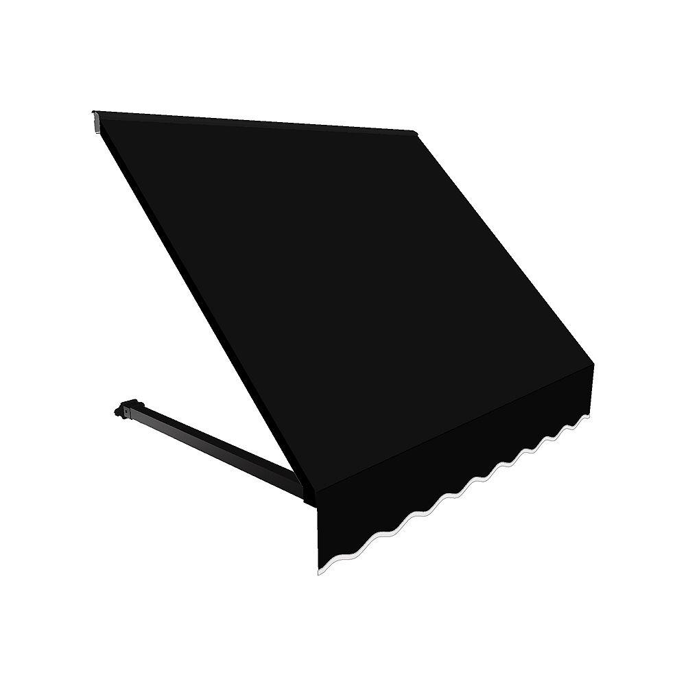 Beauty-Mark 0,91m (3pi) WINNIPEG (1,12m (44po) H x 91,44cm (36po) P) Auvent de fenêtre / d'entrée  - Noir