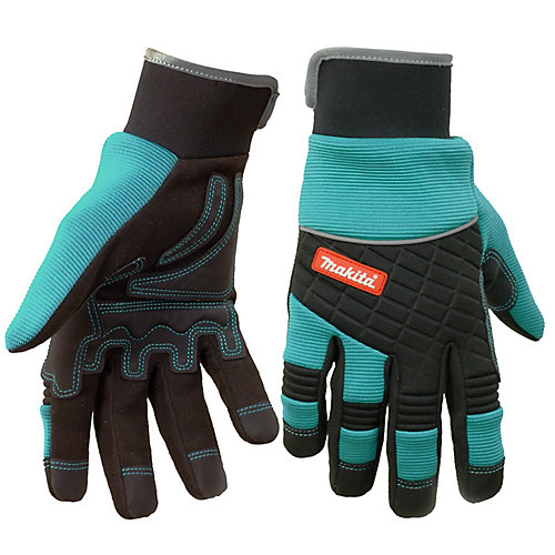 CONSTRUCTION Series Professional Work Gloves, XL