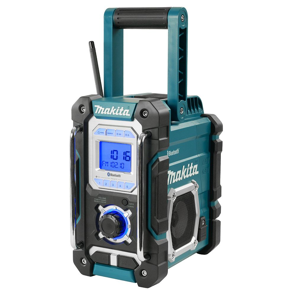 MAKITA Cordless or Electric Jobsite Radio with Bluetooth