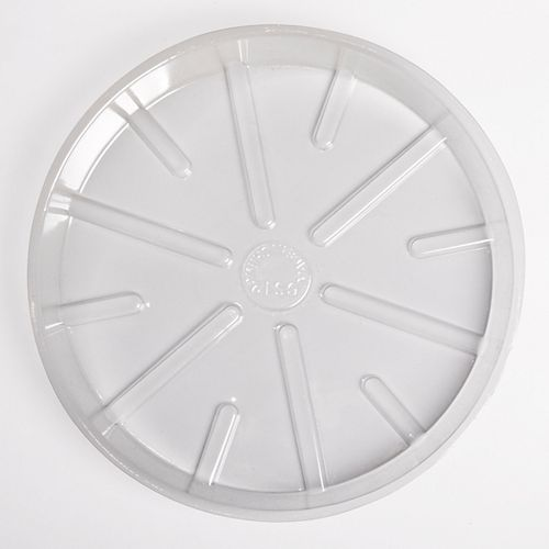 4-inch Basic Clear Poly Saucer