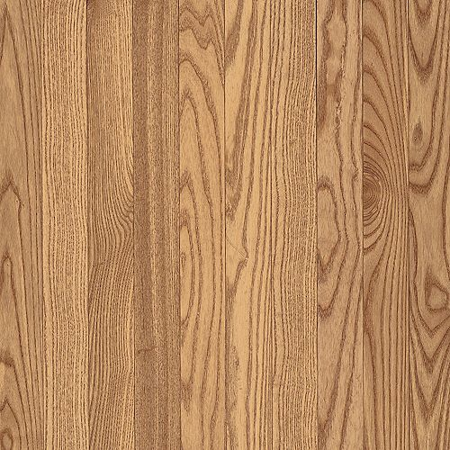 Plancher AO, bois massif, 5/16 po x 2 1/4 po, Chêne naturel, 40 pi2/boîte