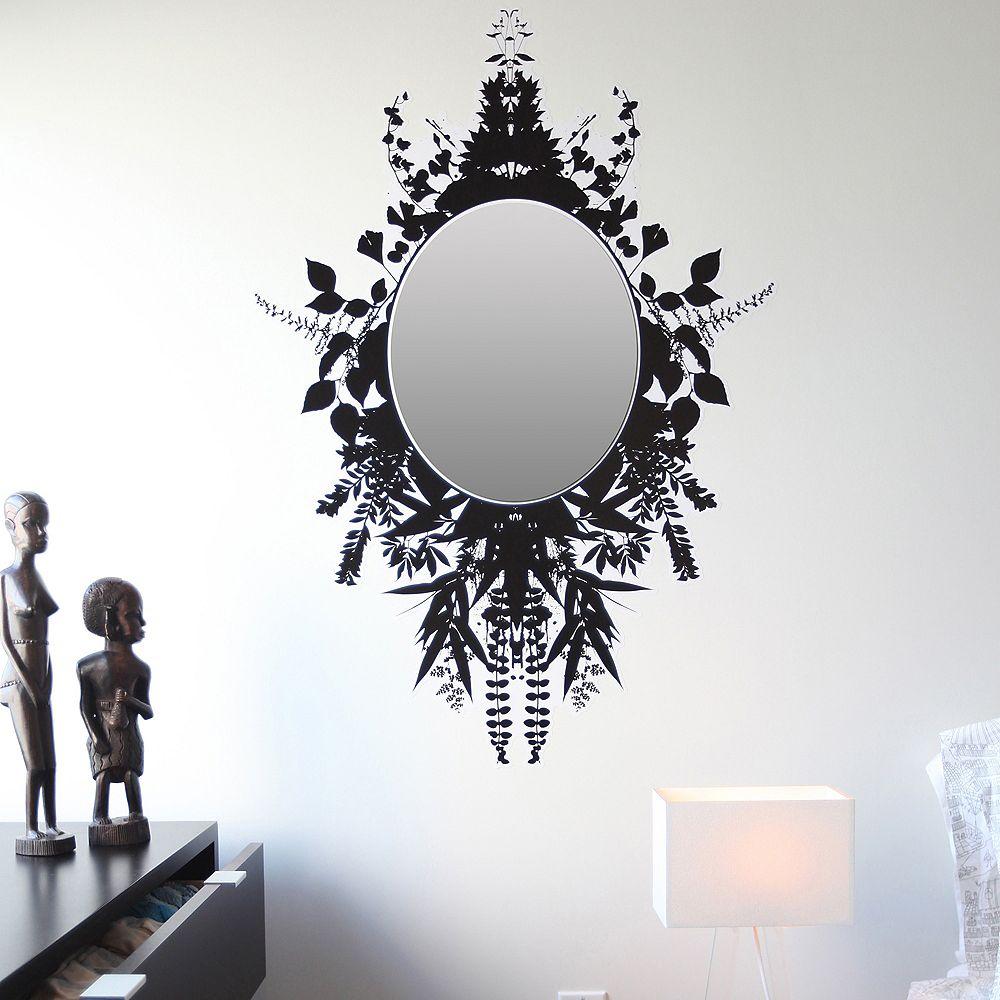 Blik Les autocollants muraux miroir Fernwood, petit moyen
