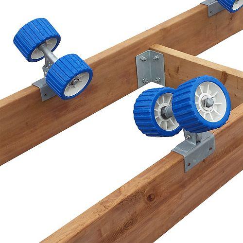 5-inch Wheel Kit for 2,000 lbs. Capacity Ramp