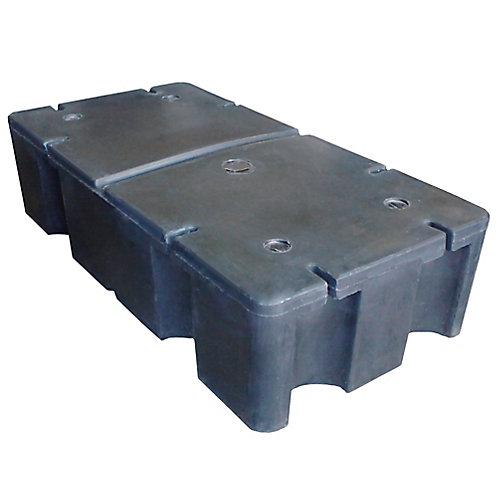 Flotteur moussé pour quai E-380 - 24 po. x 48 po. x 12 po.
