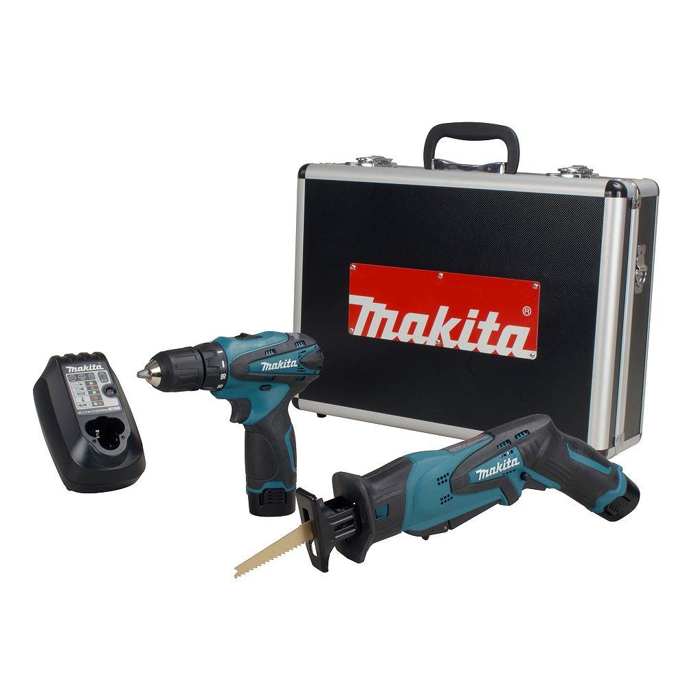MAKITA 12V 2-Piece Cordless Combo Kit