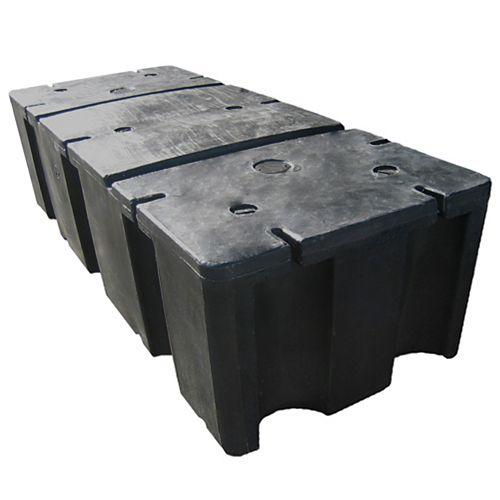 E-680 24-inch x 60-inch x 16-inch Foam Filled Dock Float