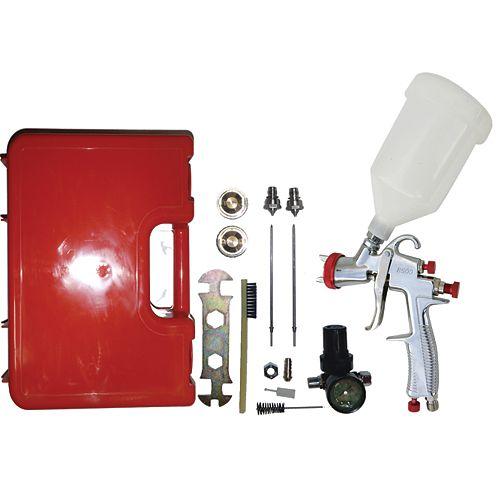 LVLP  (Low Volume Low Pressure) Gravity Feed Spray Gun Kit