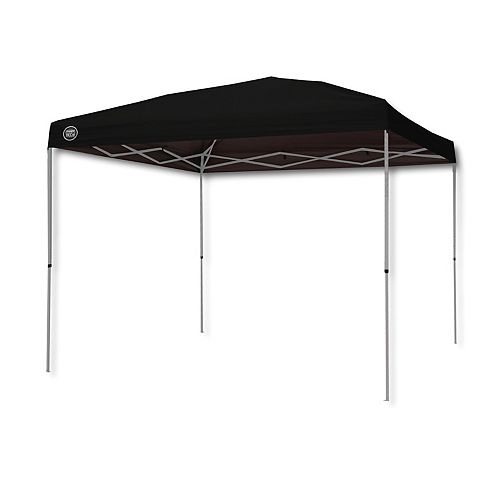 10 ft. x 10 ft. Instant Patio Canopy in Black