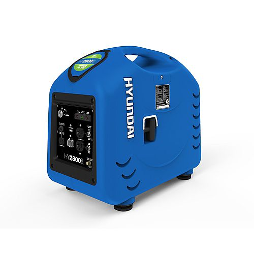 2600W Portable Gas-Powered Inverter Generator with Electric Start