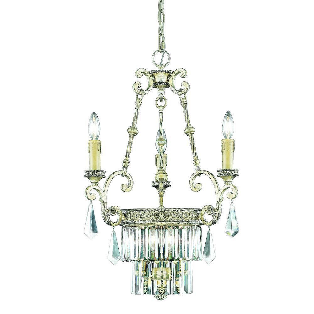 Eurofase Clairemont Collection 6-Light Artisan Gold Chandelier
